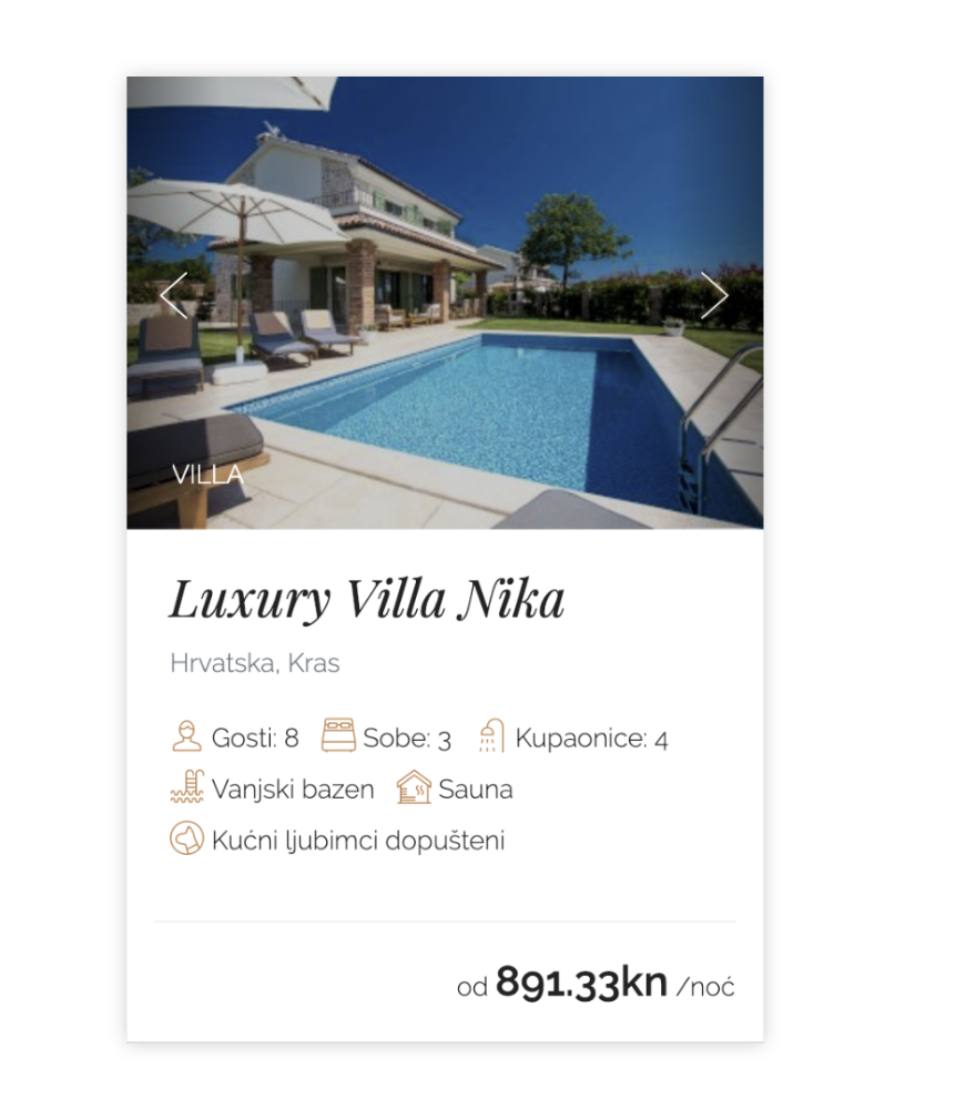 Contessa - luxury villas and apartments Left