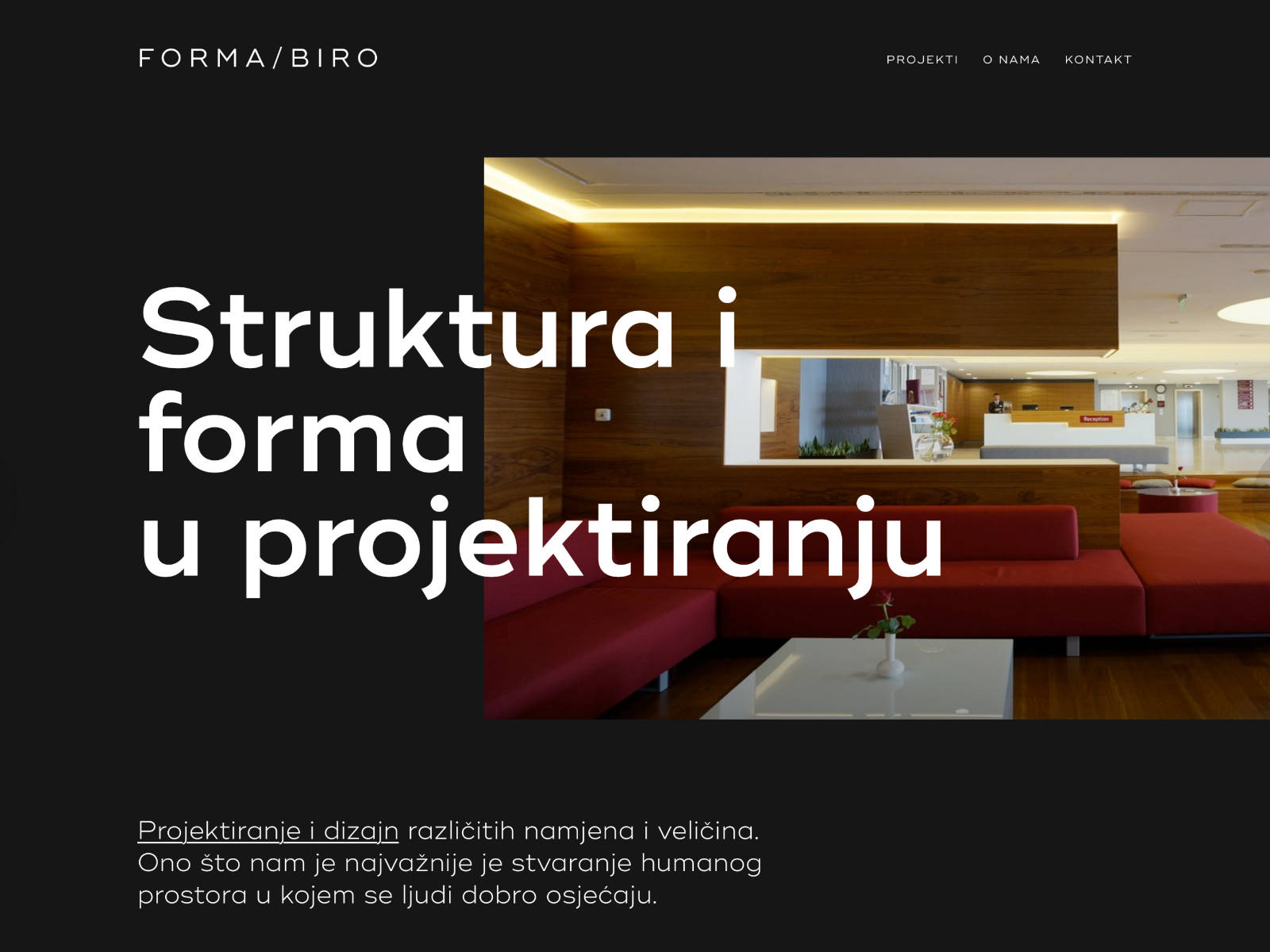 Forma biro d.o.o. Website
