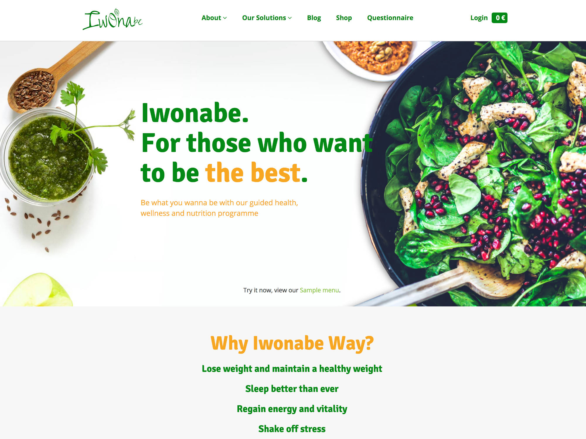 Iwonabe.com Website