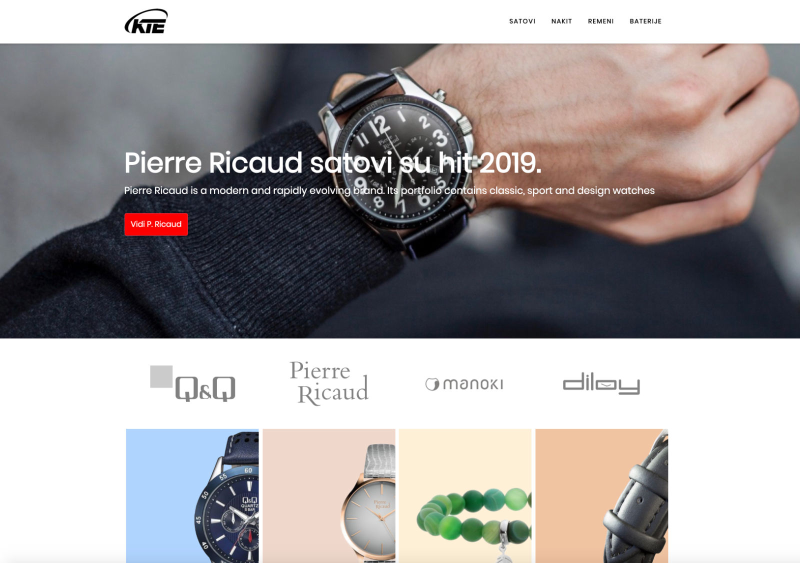Kop-trade electronic Website
