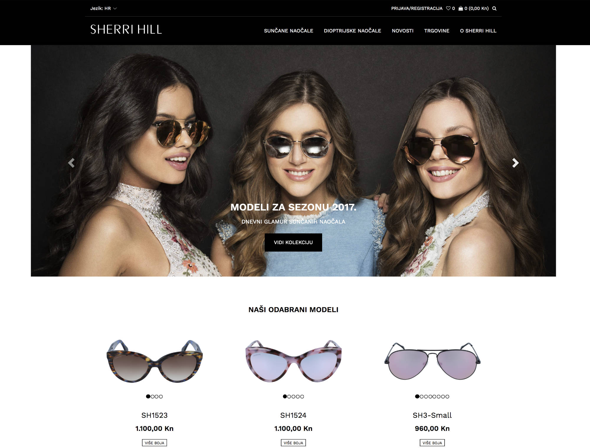 Sherri Hill Website
