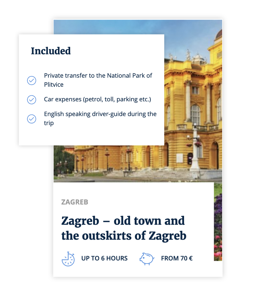 Zagreb travel Left