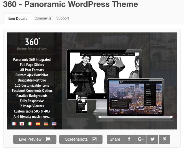 panoramic-wordpress-theme