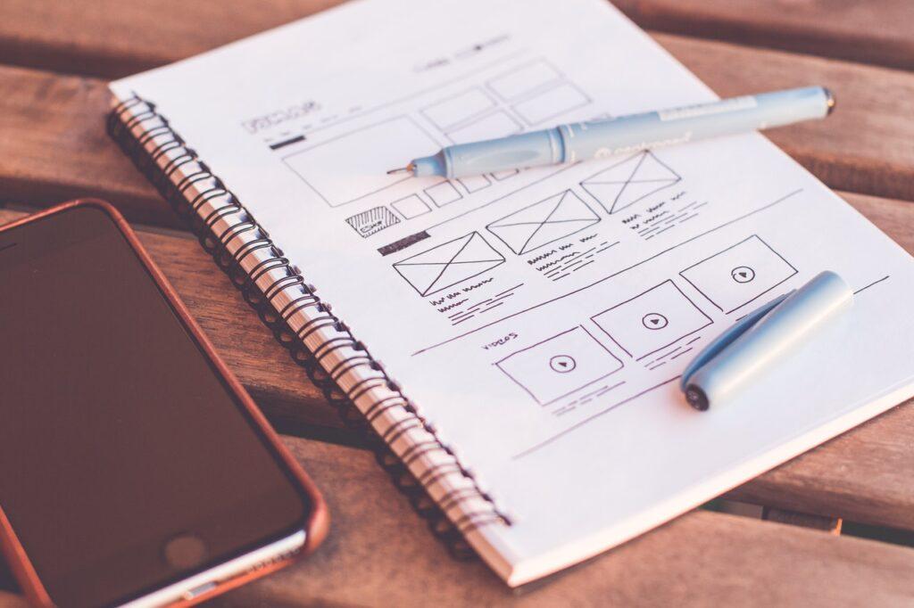 Web dizajn započinje na papiru